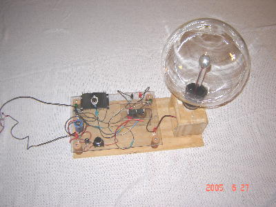 This is our 1st plasma globe